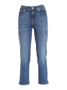 7 For All Mankind - Soho Light jeans in blue