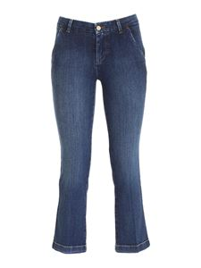 7 For All Mankind - Ankle Boot Chino Jeans in blue
