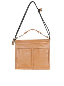 Borbonese - Centerfold Medium bag in brown