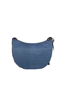 Borbonese - Luna Medium bag in blue