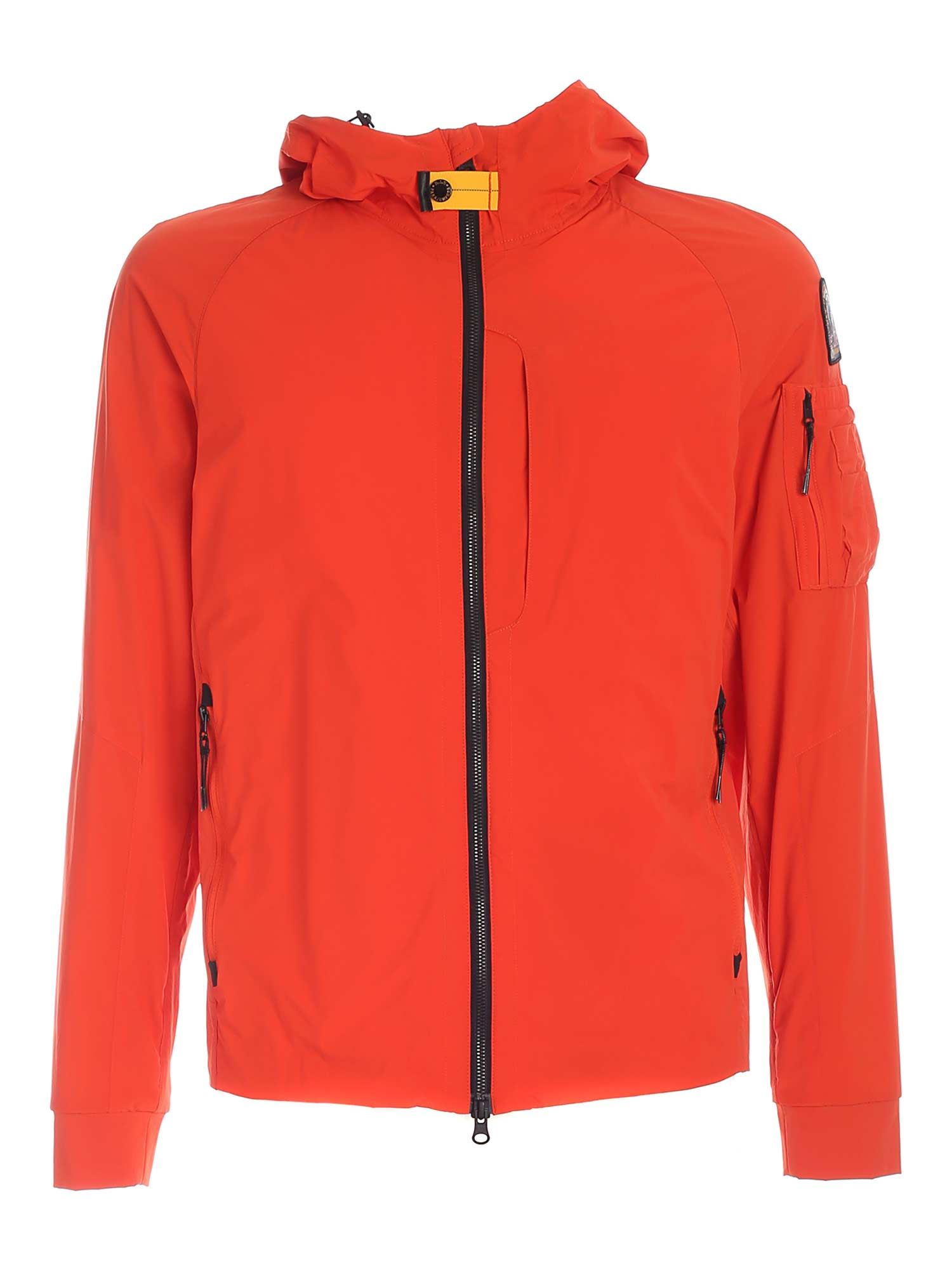 Parajumpers Linings MIZUKI PADDED JACKET IN ORANGE