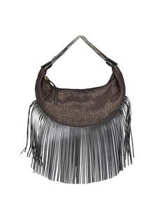 Borbonese - Tangerine Medium fringed bag in brown