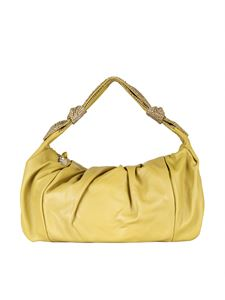 Borbonese - Medium Duna bag in lime color
