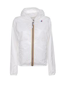 K-way - Lily Double Drops jacket in white