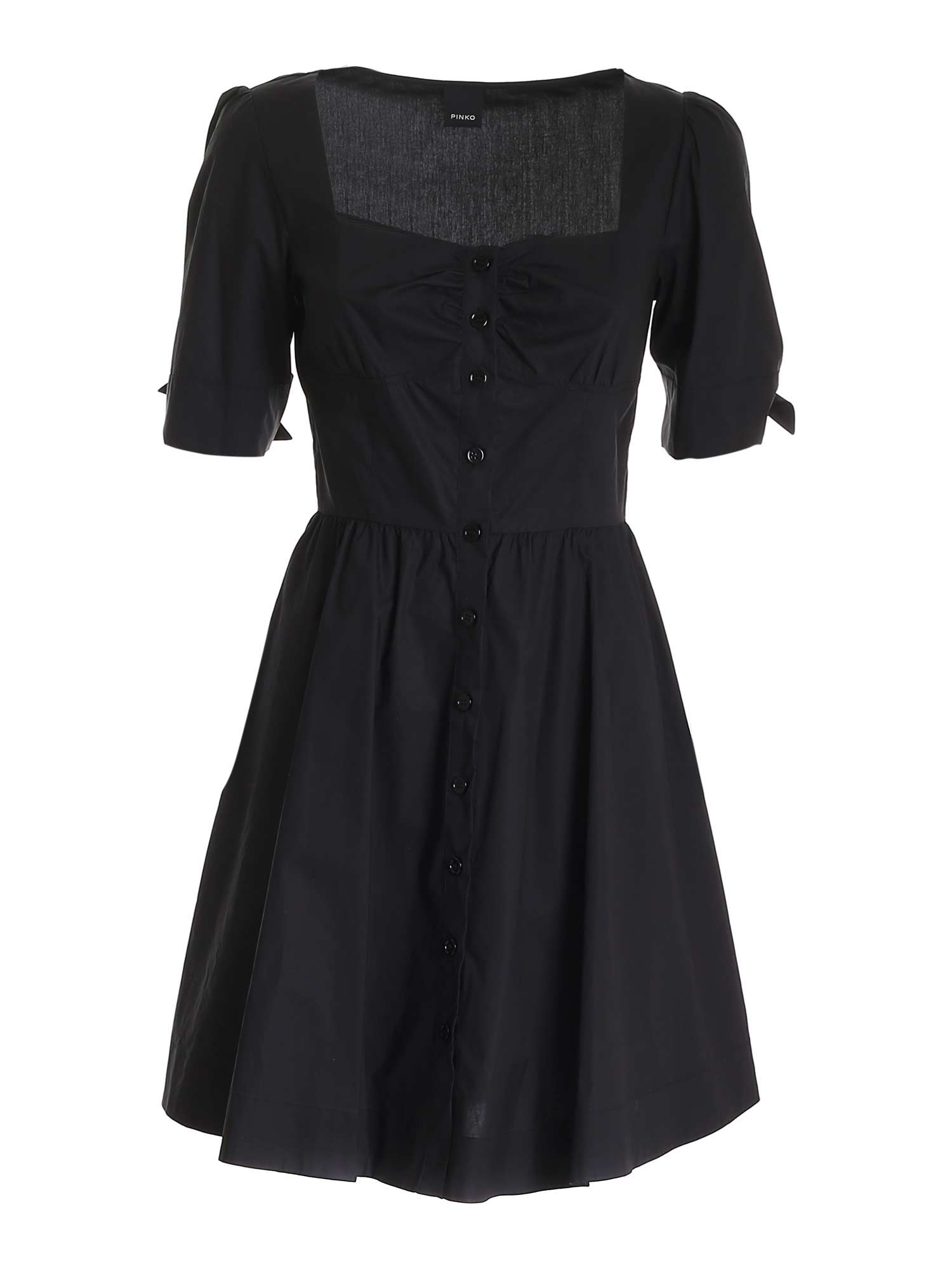 Pinko Cottons PINKO ASSOLTO DRESS IN BLACK