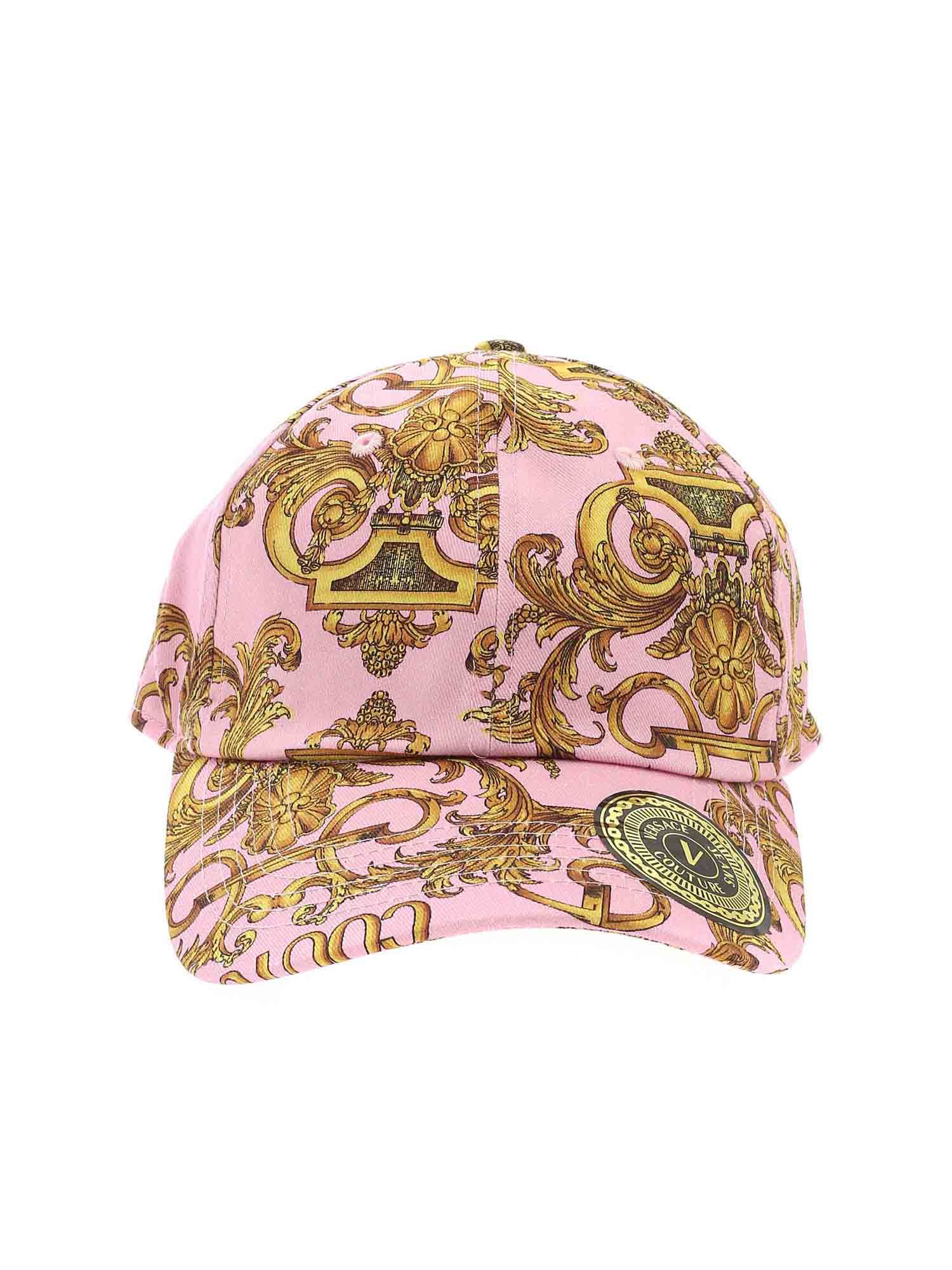 Versace Jeans Couture BASEBALL CAP IN PINK