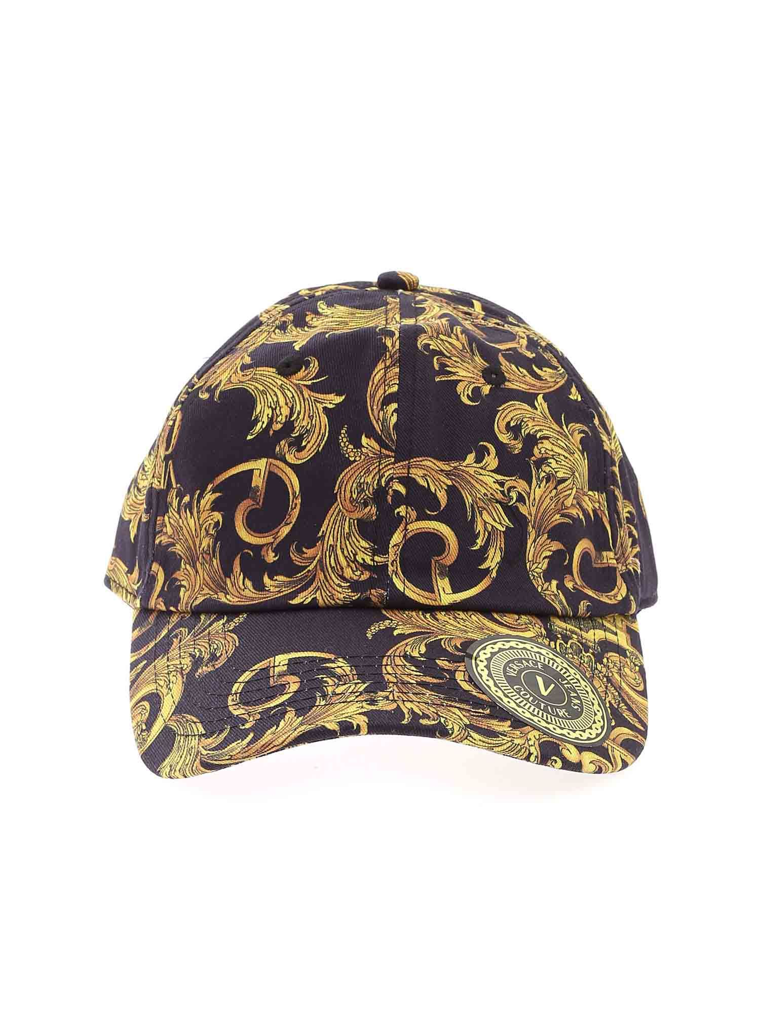 Versace Jeans Couture BASEBALL CAP IN BLACK