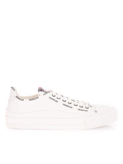 Moncler - Logo sneakers in white