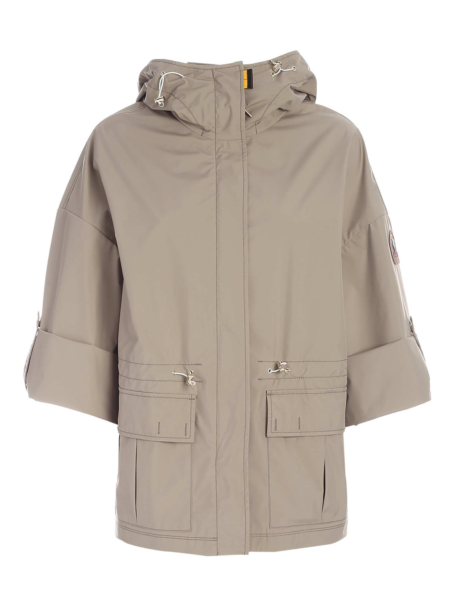 Parajumpers Linings HAILEE WATERPROOF JACKET IN GREY