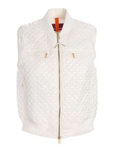 Parajumpers - Mina padded waistcoat in white