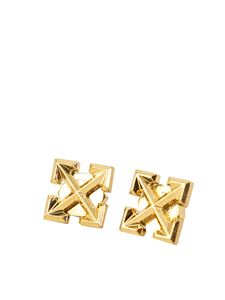Off-White - Arrows stud earrings in gold color