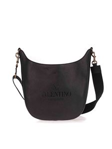 Valentino Garavani - Logo cross body bag in black