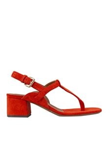L'Autre Chose - Thong sandal in red