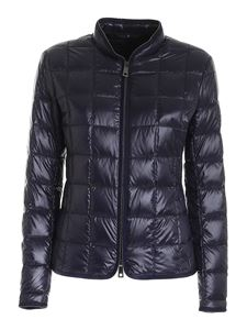 Fay - Micro beads quilted jacket in blue