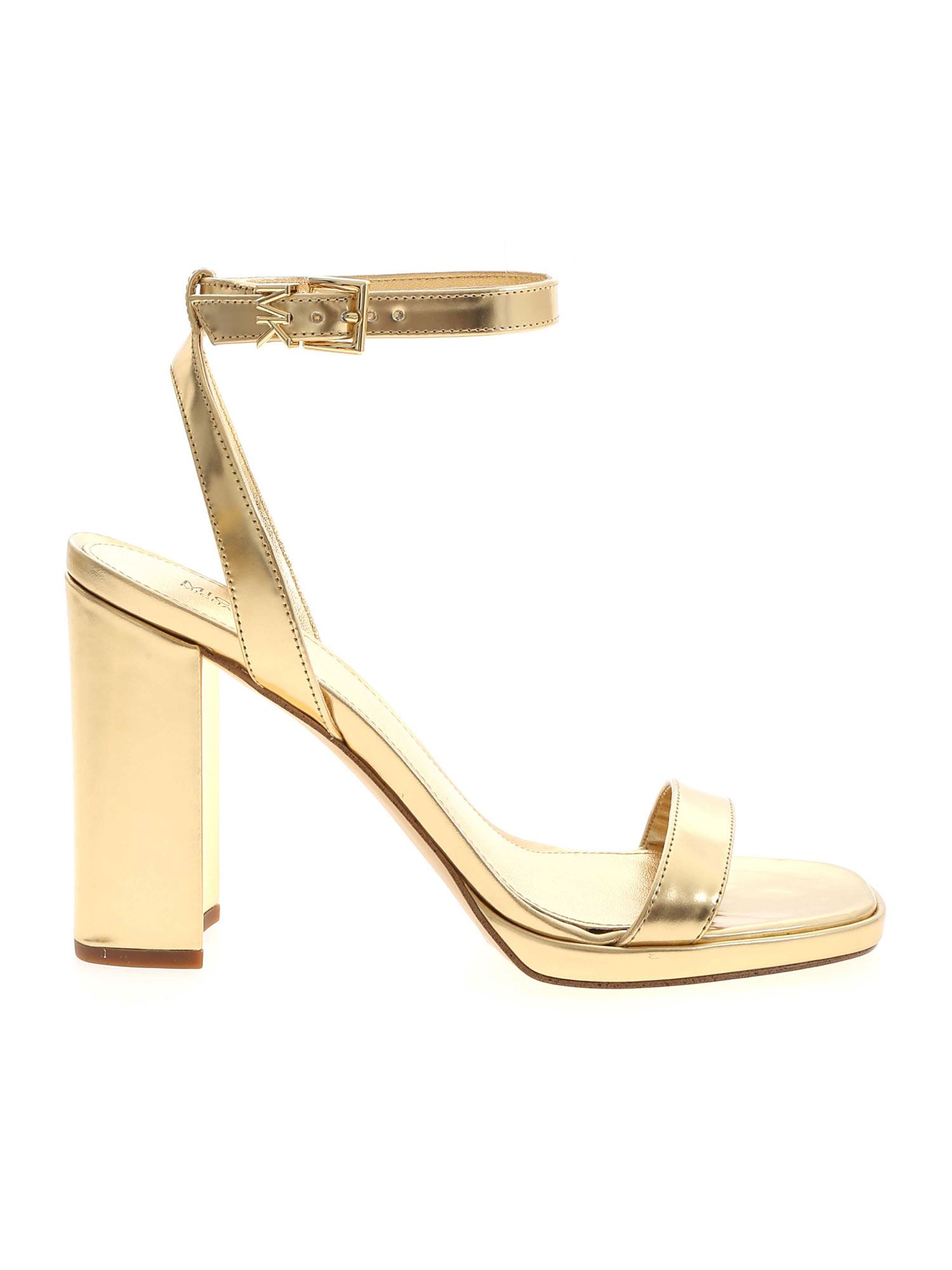 Michael Kors ANGELA SANDALS IN GOLDEN COLOR