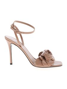 Valentino Garavani - 03 Rose Edition sandals in brown