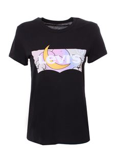 Levi's - Moon print t-shirt in black