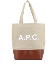A.P.C. - Axelle tote bag in beige