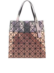 BAO BAO Issey Miyake - PVC triangle panels tote bag in bronze