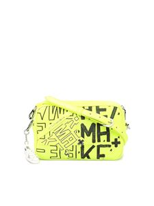 Golden Goose - Star Bag printed canvas crossbody in yellow