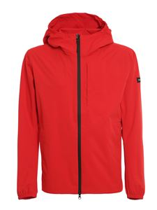 Woolrich - Giacca impermeabile Pacific 2L rossa