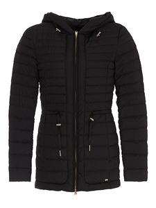 Woolrich - Hibiscus hooded puffer jacket