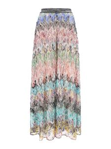 Missoni - Chevron patterned pants in multicolor
