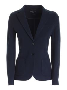 Circolo 1901 - Single-breasted jacket in blue