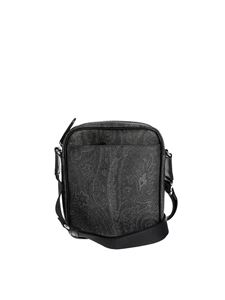 Etro - Paisley messenger bag in black