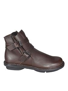 Trippen - Buckled ankle boots in brown