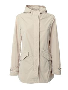 Woolrich - Summer Parka in Feather Beige color