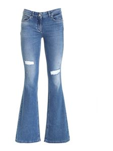 Blumarine - Flared jeans in blue
