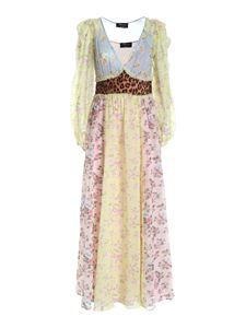 Blumarine - Floral pattern multicolor long dress