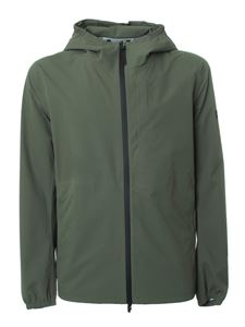 Woolrich - Pacific jacket in Fishing Green color