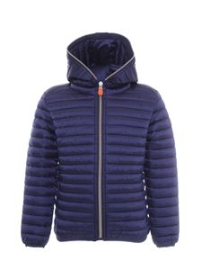 Save the duck - Padded jacket in blue