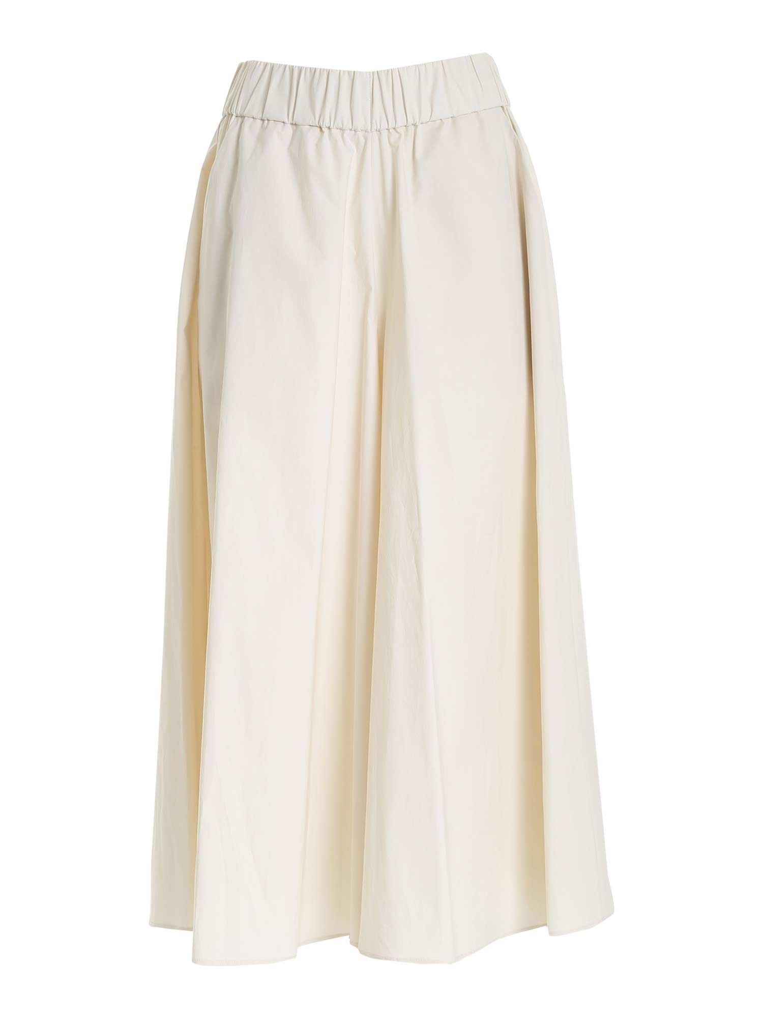 Le Tricot Perugia Cottons OVERSIZE PANTS IN BEIGE