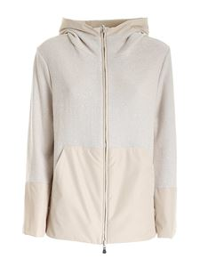 Le Tricot Perugia - Reversible jacket in beige