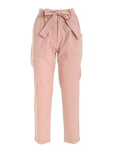 Le Tricot Perugia - Sash pants in pink