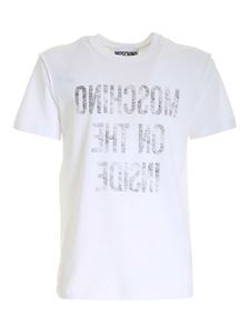 Moschino - Inside Out T-shirt in white