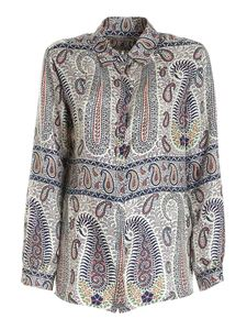 Etro - Paisley print shirt in shades of blue