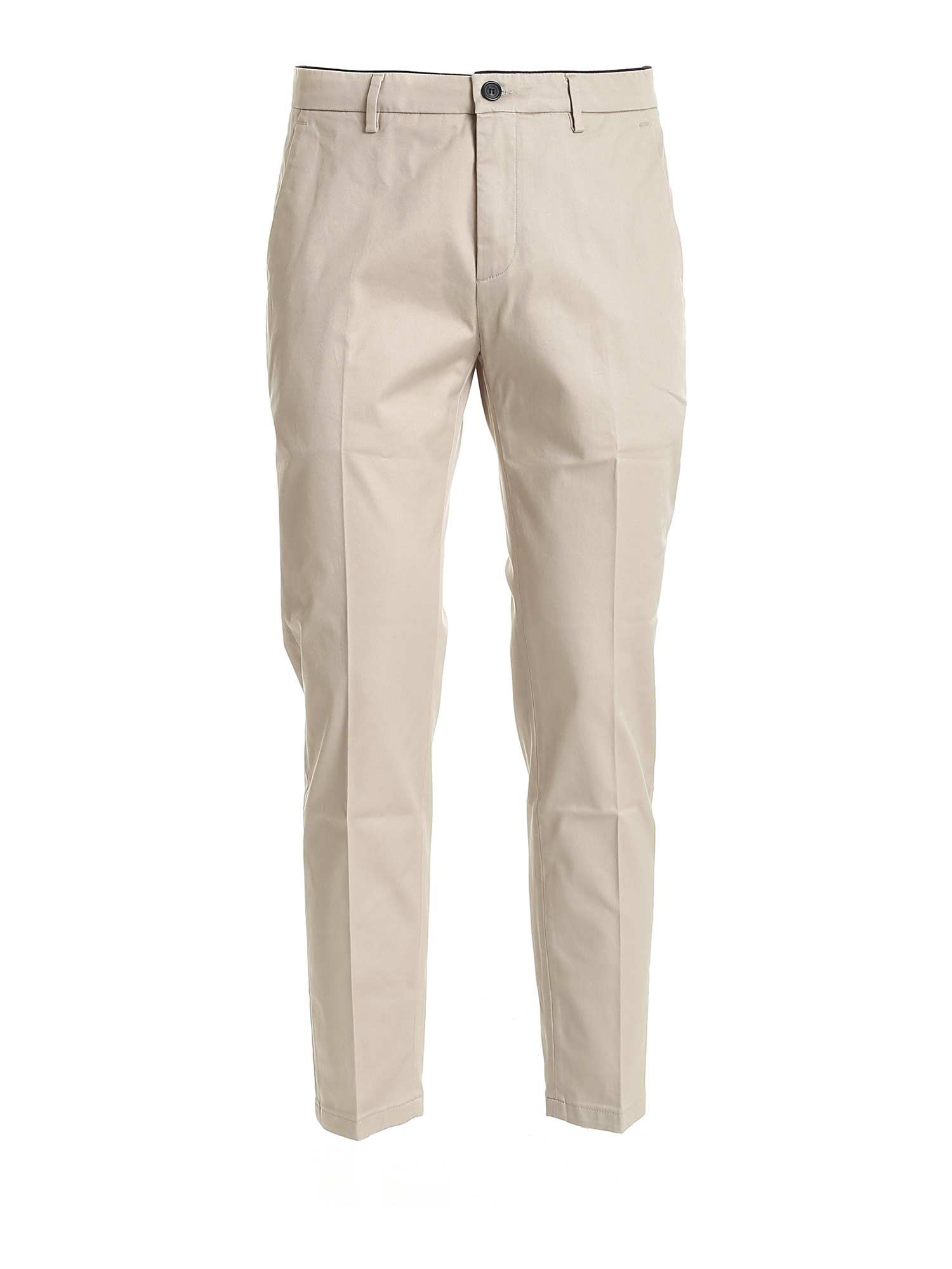 Department 5 Cottons PRINCE CHINO PANTS IN BEIGE