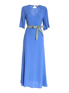 Ottod'Ame - Long dress in indigo color