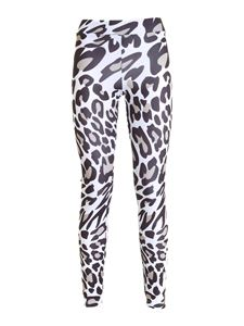 Fila - Flex Aop leggings in white animalier