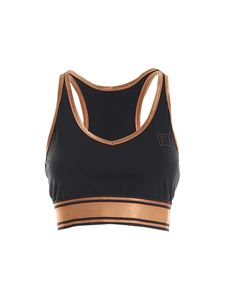 Fila - Nerea top in black and bronze