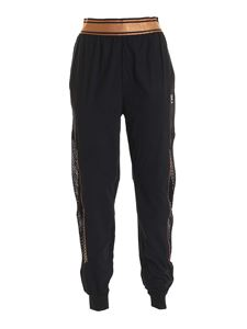 Fila - Nuria pants in black and bronze
