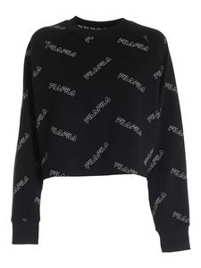 Fila - Jamuna Aop sweatshirt in black