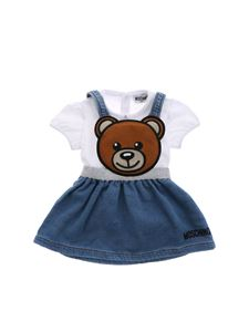 Moschino Kids - Dungarees and T-shirt set