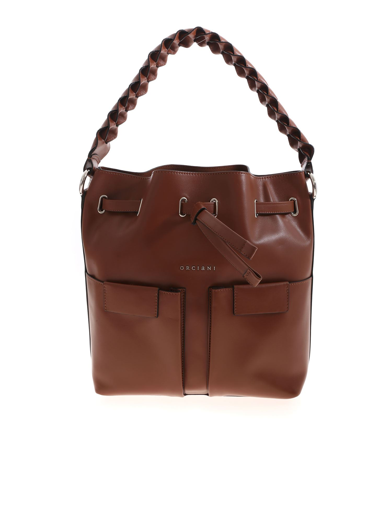 Orciani Leathers TESSA BAG IN LEATHER COLOR