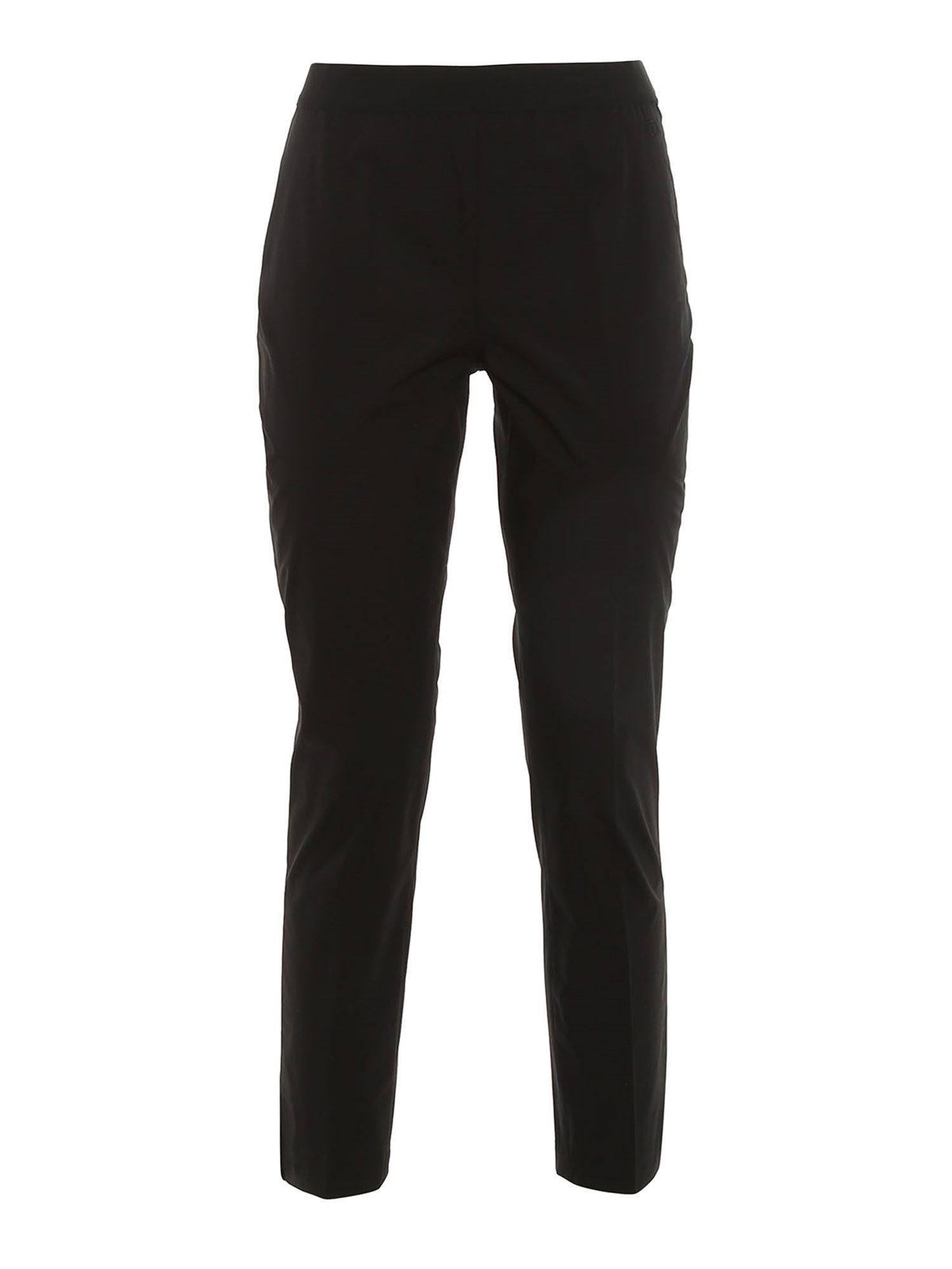 Twinset Cottons CIGARETTE TROUSERS IN BLACK