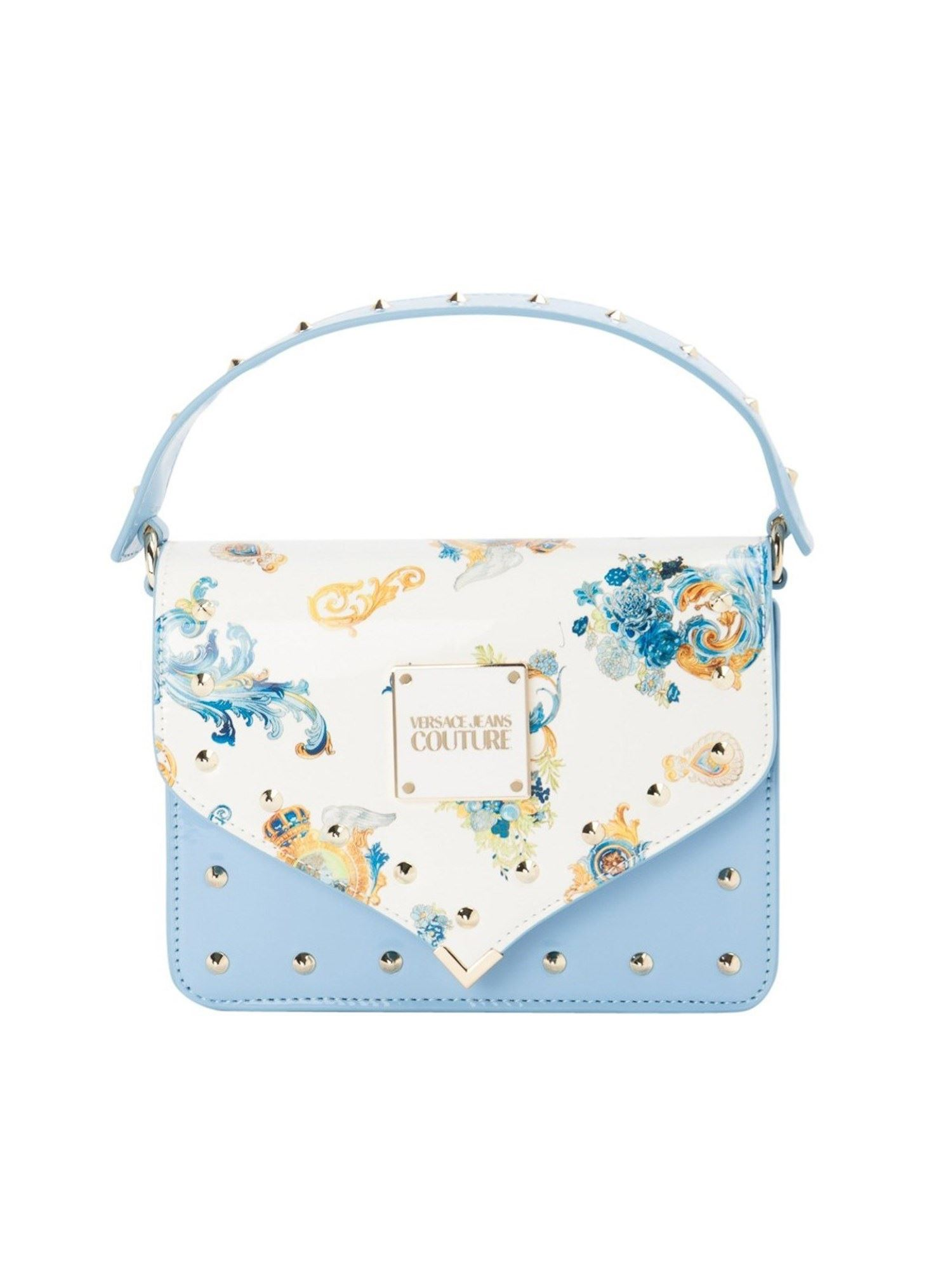 Versace Jeans Couture Crossbody bags FLAP CROSSBODY BAG IN LIGHT BLUE